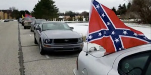 Confederate flag vehicles